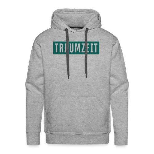 Traumzeit Klassik grünblau - Männer Premium Hoodie