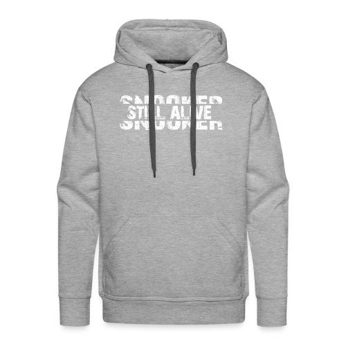 Snooker still alive - Männer Premium Hoodie