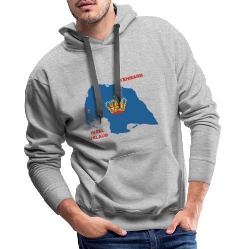 Fehmarn Insel Ostsee Urlaub - Männer Premium Hoodie