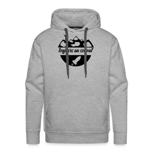 Toujours au sommet ! - Sweat-shirt à capuche Premium pour hommes