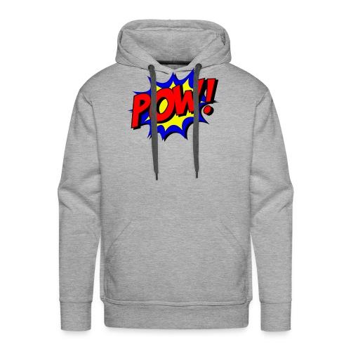 Pow Logo - Männer Premium Hoodie