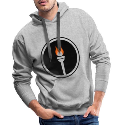 Une génération qui seul - torche - Sweat-shirt à capuche Premium pour hommes
