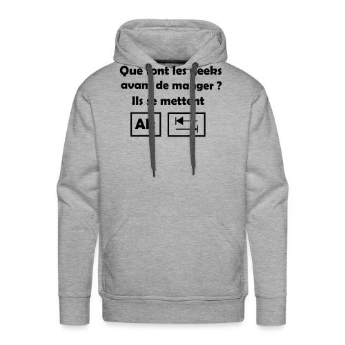 Alt Tab - Sweat-shirt à capuche Premium pour hommes
