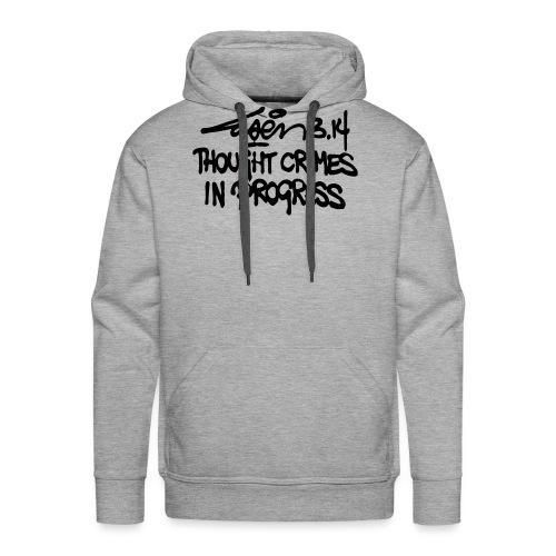 Thought Crimes In Progres - Men's Premium Hoodie