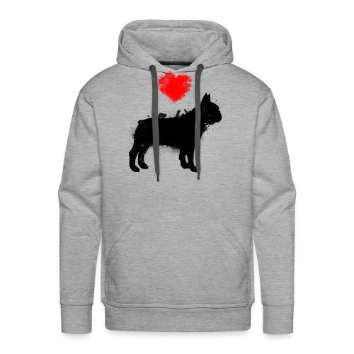 Französische Bulldogge Wunschname - Männer Premium Hoodie