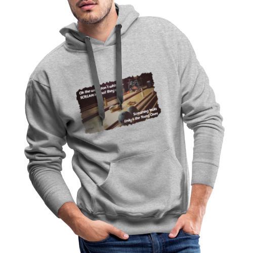 Shirt Screaming Walls - Mannen Premium hoodie