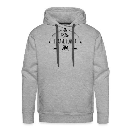 Pirate Power - Sweat-shirt à capuche Premium pour hommes
