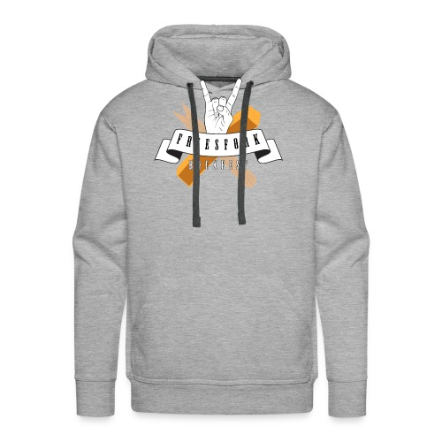 Friesfork Logo - Männer Premium Hoodie