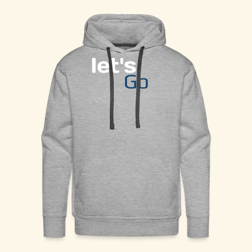 Let's go pubg mobile fortnight - Men's Premium Hoodie