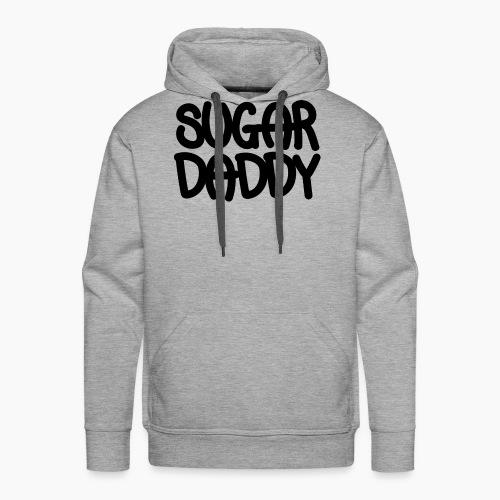 Sugar Daddy Zwart - Mannen Premium hoodie