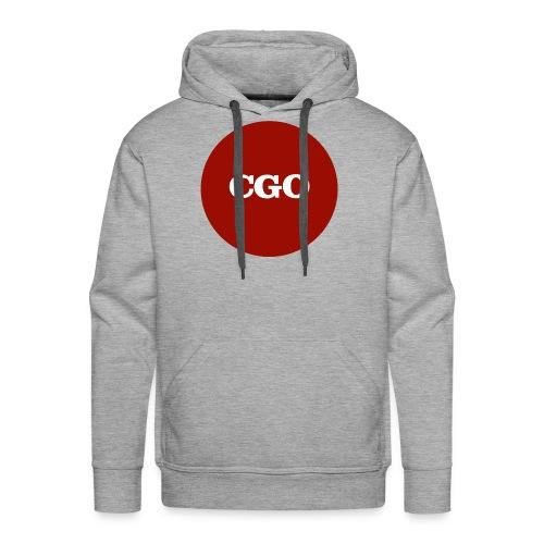 watermerk cgo - Mannen Premium hoodie