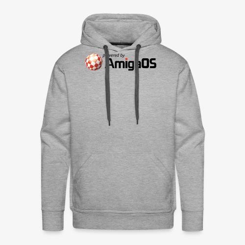 PoweredByAmigaOS Black - Men's Premium Hoodie