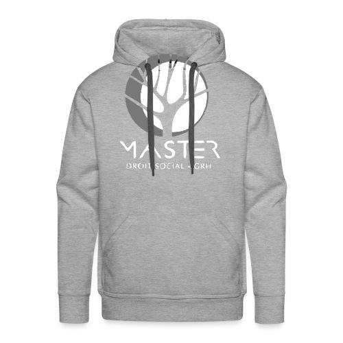 Logo vectorisé - Sweat-shirt à capuche Premium pour hommes