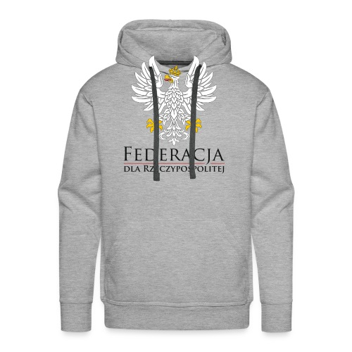 FDR Logo - Bluza męska Premium z kapturem