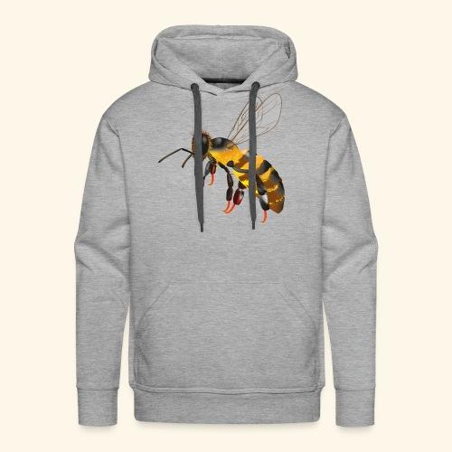 Honigbiene - Männer Premium Hoodie