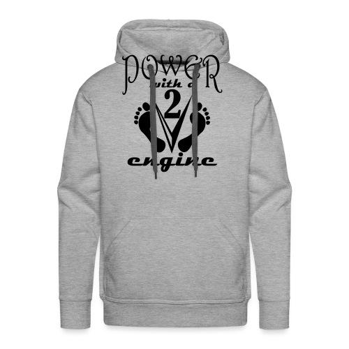 v2a - Sweat-shirt à capuche Premium pour hommes