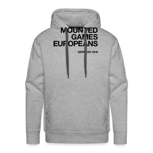 Mounted Games Europeans Hoodie - Männer Premium Hoodie