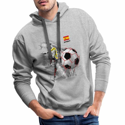 SPAIN FOOTBALL PRODUCTS - Espanya fútbol - Miesten premium-huppari
