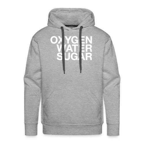 Oxygen water sugar - Herre Premium hættetrøje