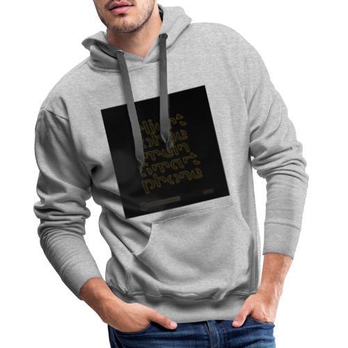 Design Nicht ohne mein Smartphone gold 4x4 - Männer Premium Hoodie