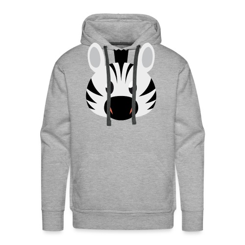 Zebra Zoe - Men's Premium Hoodie