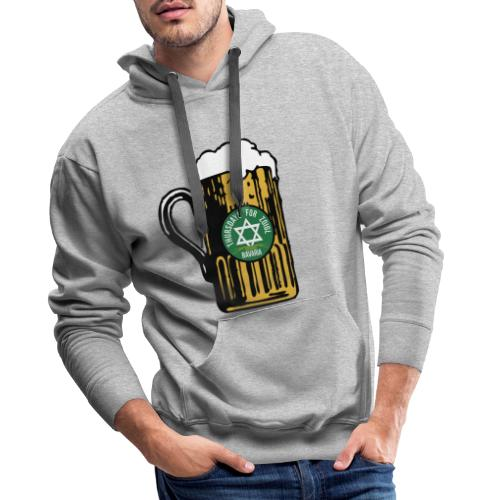 Zoigl Krug Shirt - Männer Premium Hoodie