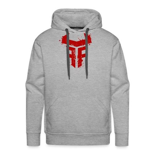 Fit Fight Bull Logo splatter distressed - Männer Premium Hoodie