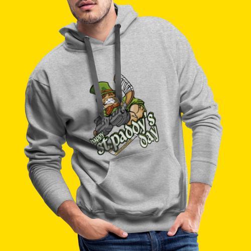 St Paddy´s Shirt Eishockey T-Shirt - Männer Premium Hoodie