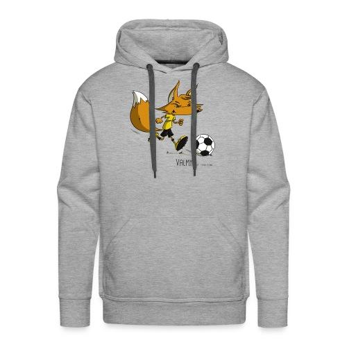 Valmy mascotte - Sweat-shirt à capuche Premium pour hommes