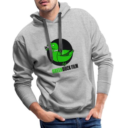 Greenduck Film Logo w. black letters - Herre Premium hættetrøje