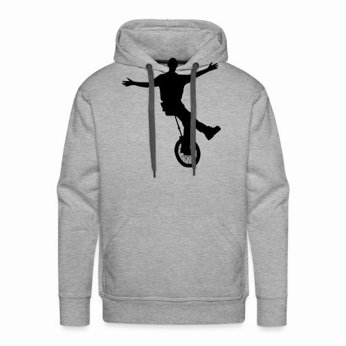 Unicycle - Sweat-shirt à capuche Premium pour hommes