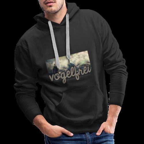 geweihbär Vogelfrei 3 - Männer Premium Hoodie