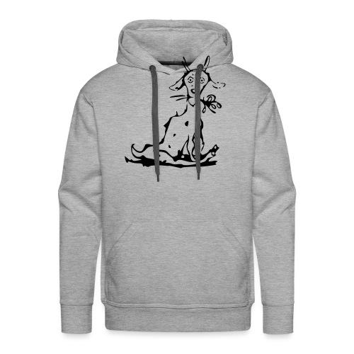 chevre kaopa - Sweat-shirt à capuche Premium pour hommes