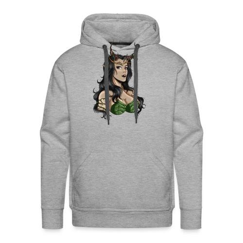 Sexy Dryade - Sweat-shirt à capuche Premium pour hommes