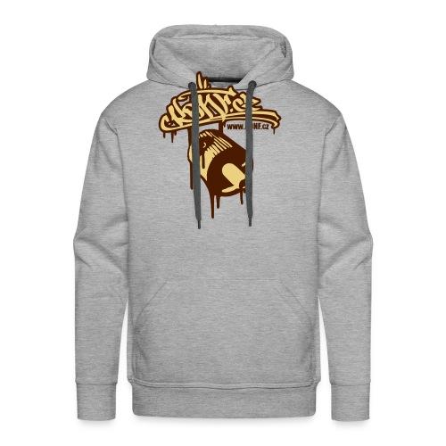 BROWN HOODED SWEET - Men's Premium Hoodie