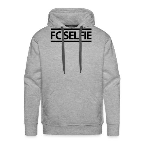 FCSELFIE Logo-Print - Männer Premium Hoodie