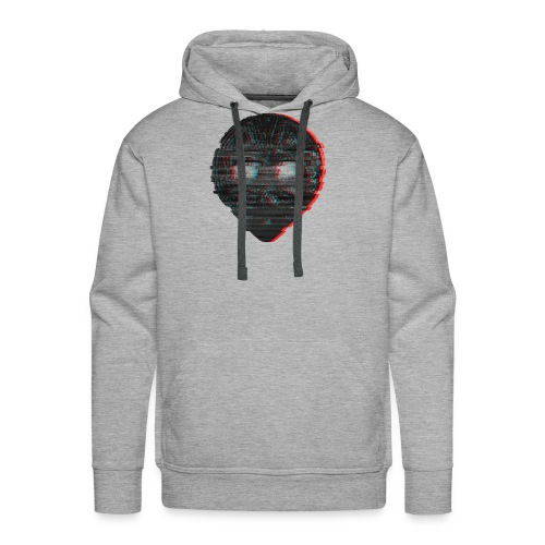 Gas alien glitch - Mannen Premium hoodie