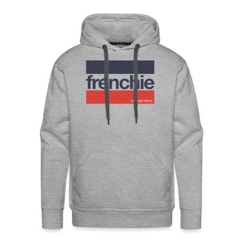 Frenchie Stripes - Französische Bulldogge - Männer Premium Hoodie