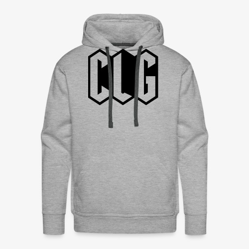 CLG DESIGN black - Sweat-shirt à capuche Premium pour hommes