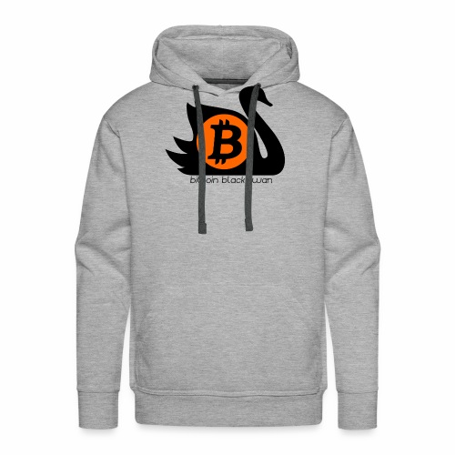 Bitcoin Black Swan - Men's Premium Hoodie