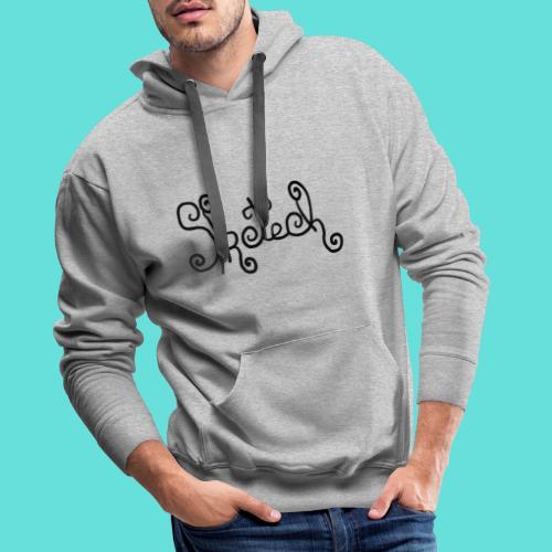 sketch - Sweat-shirt à capuche Premium pour hommes