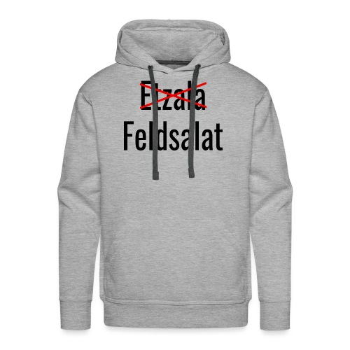 Etzala - Feldsalat - Shirt - Theophil-Nerds - Männer Premium Hoodie