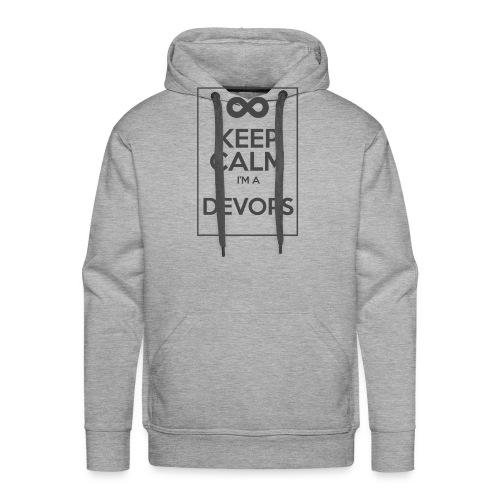Keep Calm I'm a devops - Men's Premium Hoodie