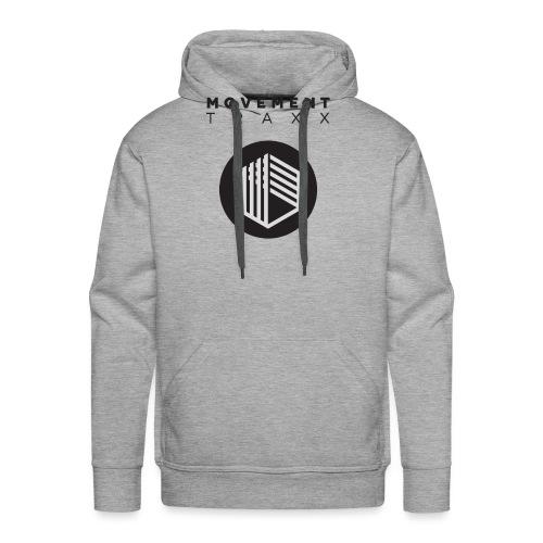 Movement Traxx - 'Standard Logo 3' - Sweat-shirt à capuche Premium pour hommes