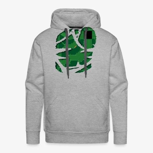 Stromkreis / Strom / Schaltplan / Technik Shirt - Männer Premium Hoodie