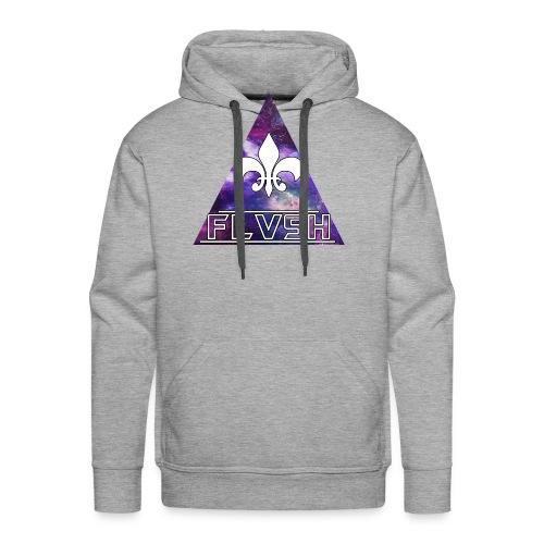 FLVSH Logo - Männer Premium Hoodie