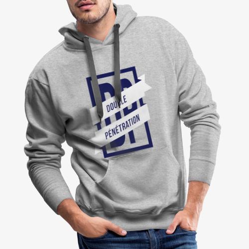Double pene - Sweat-shirt à capuche Premium pour hommes