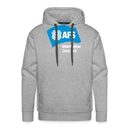 AFSLogo3 - Herre Premium hættetrøje