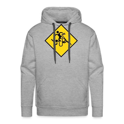 snowboard - Mannen Premium hoodie