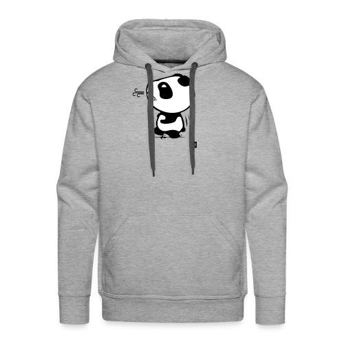 Panda run - Sweat-shirt à capuche Premium pour hommes